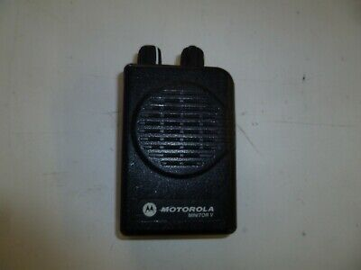 Motorola Minitor V 151-158.9 MHz Stored Voice VHF FIRE EMS Pager o286