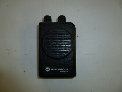 Motorola Minitor V 151-158.9 MHz Stored Voice VHF FIRE EMS Pager y346