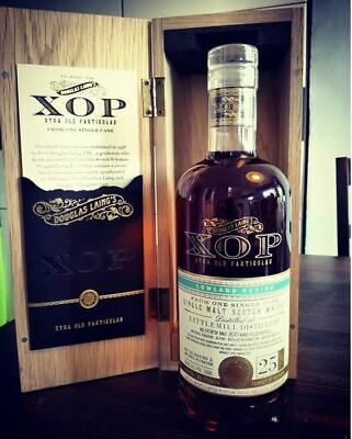 Littlemill Douglas Laing XOP 1991 25yo rare whisky limited edition single cask