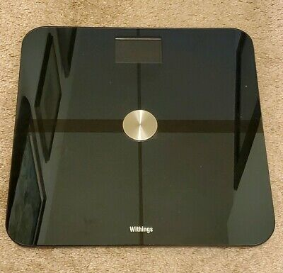 Withings WS-50 Smart Body Analyzer Scale - Black Weight Journey. Tested & Works!