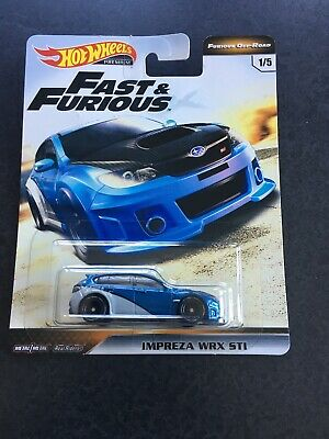 NEW 2019 Hot Wheels Fast and Furious Off-Road IMPREZA WRX STI REAL RIDERS
