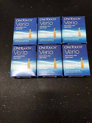 One Touch Verio Retail Test Strips, 600 Strips
