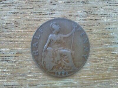 1925 George V Half Penny Coin
