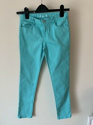 Girls Gap Age 12 Turquoise Blue Jeans Trousers Skinny