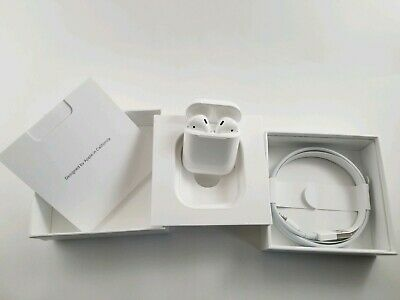New Genuine Apple AirPods 2nd Generation Wireless with Charging Case MV7N2AM/A