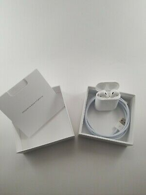 New Genuine Apple AirPods 2nd Generation with Wireless Charging Case MRXJ2AM/A
