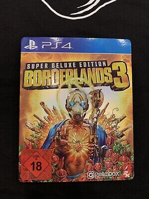 Borderlands 3 Super Deluxe Edition incl. Season Pass, Sony Playstation 4