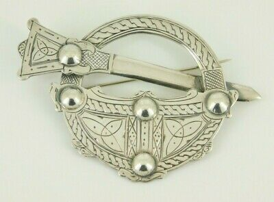 Vintage / Antique Sterling Silver Scottish Brooch