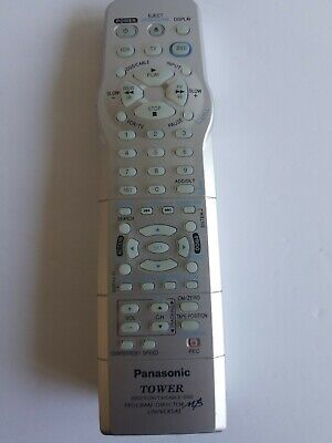 Pioneer Tower K1V-001055 Universal Remote Control Genuine OEM Replacement VCR/TV
