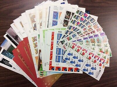 Discount Stamps: $500.39 Face Value, Lot Of Mint Sheets, New Condition