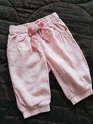 Girls Next Summer Cropped Trousers 2-3 Years