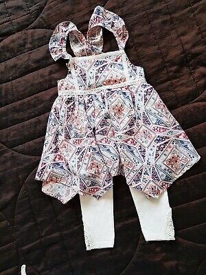 Girls Summer Outfit 2-3 Years Dylan And Abby / Next