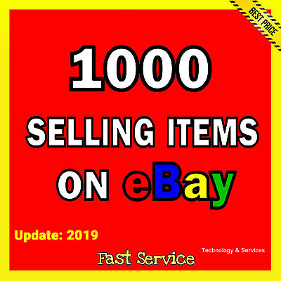 ✅ TOP 1000 DropShipping Product List ✅ For Shopify Aliexpress eBay ✅ List