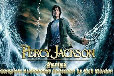 Percy Jackson Series Complete AudioBooks Collection