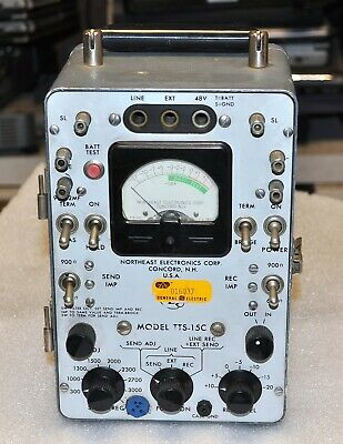 Northeast Electronics Tts-15C Transmission Test Set Good Commercial Surplus