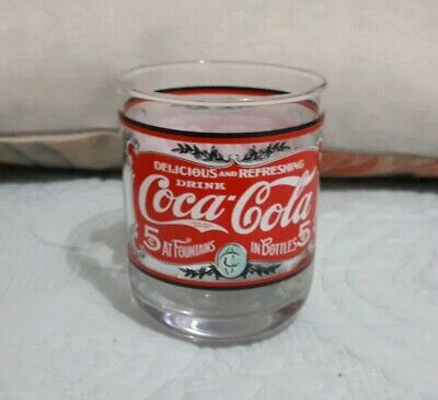 Coca-Cola Collectable Printed Glass