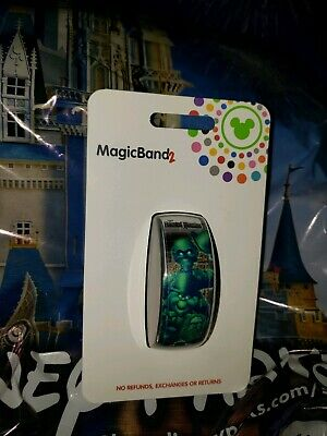 Disney Parks HITCHHIKING GHOSTS WHITE Magic Band Magicband 2 Haunted Mansion