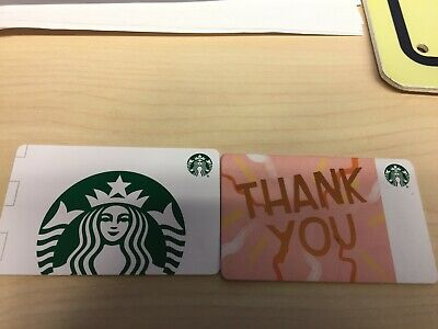 2 Starbucks Gift Cards $25+$5=30$ total. Physical cards sent by post