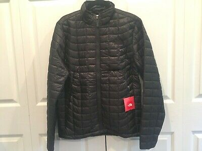 NWT The North Face Mens Thermoball Jacket Small S NEW Asphalt Grey Full Zip Gray