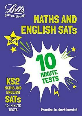 KS2 Maths and English SATs 10-Minute Tests: For the 2020 Tests, Paperback, A4 b