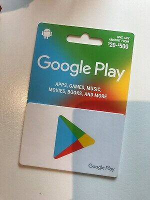 Google Play $500 - Unwanted Corporate Gift