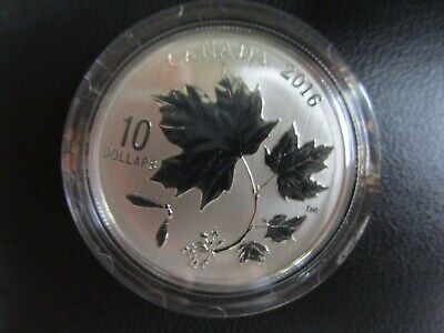 2016 RCM Canada $10 Canadian Maple Leaves Coin