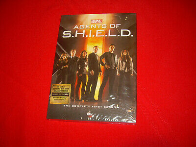 The Complete First Season 1 One New AGENTS OF SHIELD DVD Disc Set