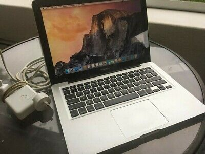 MacBook Pro 13-inch, mid-2012, silver, good working condition