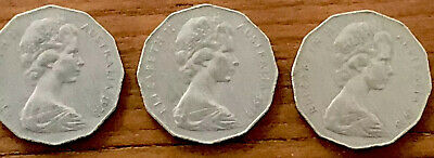 1973 Australian 50 Cent Coin - VERY LOW MINTAGE - KEY DATE - RARE