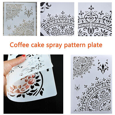 DIY Craft Layering Stencils Template For Walls Painting Scrapbooking Stamping F6