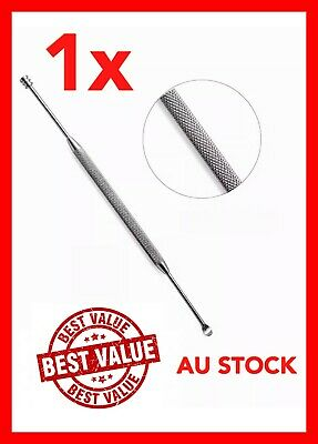 Stainless Steel Ear Pick Wax Curette Remover Cleaner Care Tool