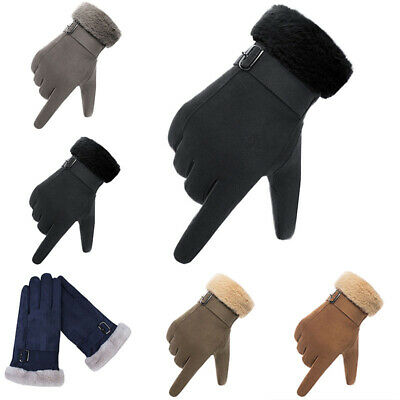 1 Pair Full Finger Cycling Gloves Bike Long Sports Touchscreen Gloves One Size