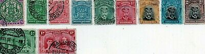 commonwealth stamps, british south africa company