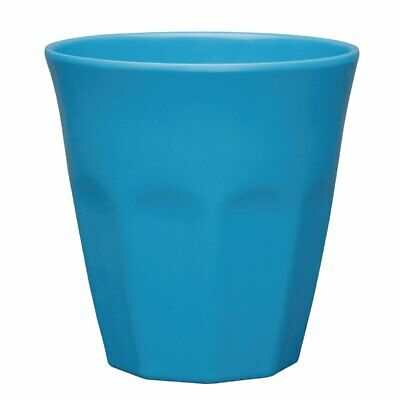 Kristallon Melamine Beaker Blue - 88(dia)x90(h)mm 290ml 10oz (Box 6)