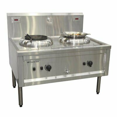 CookTek ACT2.I.50.800 Electric Wok Cooking Table - Double Hole (Direct)