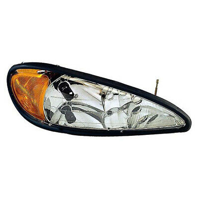 GM2502196 Fits 1999-2005 Pontiac Grand AM Driver Side Headlight CAPA