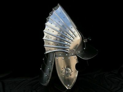 VINTAGE WINGED HUSSAR IRON MEDIEVAL HELMET HALLOWEEN lLORD OF THE RING REPLICA