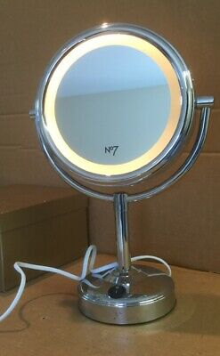 No7 Light Up Make Up Mirror Double Sided