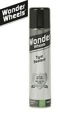 Wonder Wheels Tyre Sealant Shield Tyre walls Wheel Bumper Trim Cleaner Protector