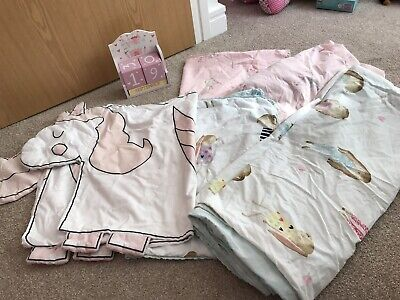 Girls Next Single Duvet And Fitted Sheet