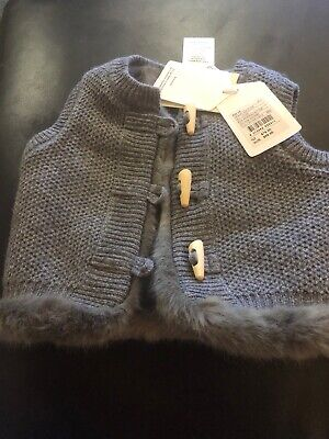 Country Road Vest (3-6mths Large Fit) BNWT
