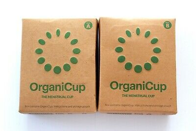 OrganiCup The Menstrual Cup - Please Choose Size:
