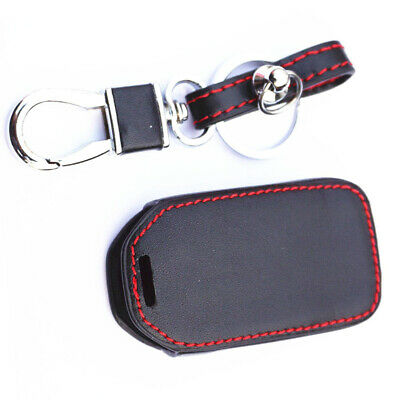 Black Remote Key Cover Case Fob Keychain Holder For Honda CR-V Accord Civic