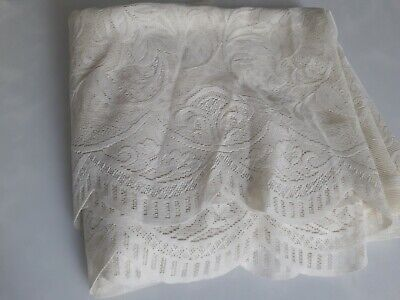 Lace  material  cream or beige