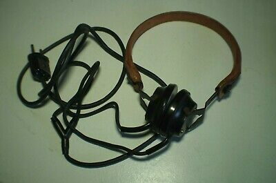 Vintage Hungarian Military Issue Headphone