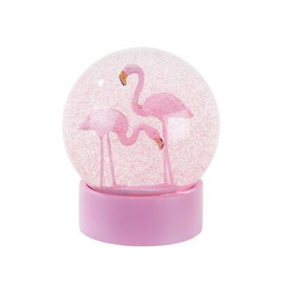Flamingo Fun Snow Globe - Christmas, Birthday, Gift,Home Deco,Accessory,Tropical