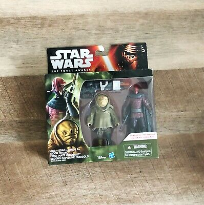 Star Wars The Force Awakens Sidon Ithano & First Mate Quiggold 2-Pack New MISB