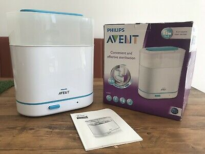 Philips Avent 3-in-1 electric steam steriliser. Very Good Condition