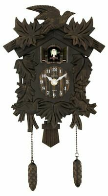 Acctim Hamburg Cuckoo Clock Antique Bronze Wall Clocks 27828