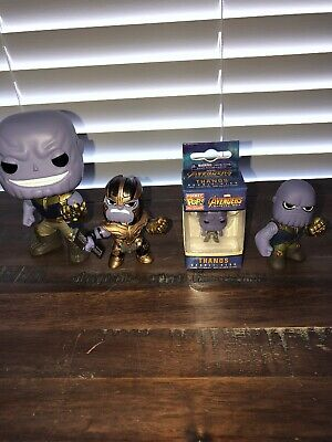 Funko Pop Marvel Avengers Infinity War Thanos Vinyl Action Figure Loose Lot